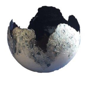bolvaas zwartwit 36cm