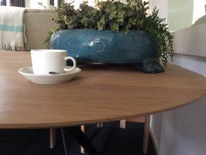 ovale schaal op poten 44x35cm